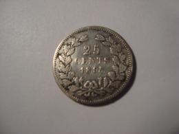 MONNAIE PAYS BAS 25 CENTS 1895 - 25 Cent