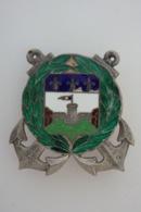 Compagnie D'Infanterie Colonial De Guadeloupe - Drago Vers 1940 Argent - 2531 - - Landmacht