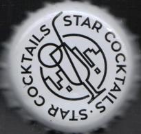 Estonia Crown Cap Star Coctails (other Alcoholic Drink) By AleCoq Tartu - Capsules & Plaques De Muselet