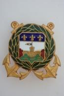 Compagnie D'Infanterie Colonial De Guadeloupe - Drago Vers 1940 Doré - 1175 - - Landmacht