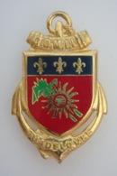Commandement Militaire Guadeloupe - Drago Vers 1980 - Doré - 1760 - - Landmacht