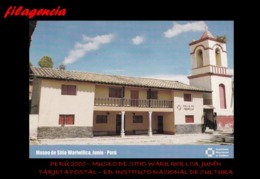 TRASTERO. PERÚ. TARJETAS POSTALES. TARJETA POSTAL 2000. MUSEO DE SITIO WARILIWILLCA. JUNÍN - Perù