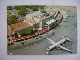 URUGUAY - POST CARD OF MONTEVIDEO CARRASCO AIRPORT IN THE STATE - Aerodromi