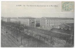 Lyon Vue Générale Des Casernes De La Part Dieu - Autres