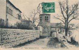 I169 - 69 - TUPIN-SEMONS - Rhône - L'Église Et Es écoles à Semons - France
