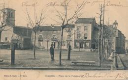 I169 - 69 - CHAZELLES - Rhône - Place De La Poterne - France