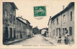 I169 - 69 - BEAUNANT - Rhône - Route De Francheville - France