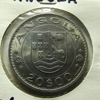 Portuguese Angola 20 Escudos 1971 Varnished - Portugal