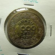 Brazil 1000 Reis 1939 Varnished - Brazil