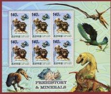 Korea 2006, SC #4502, M/S, Specimen, Caveman, Dinasaur, Prehistory - Archäologie