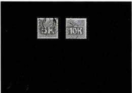 Austria ,segnatasse ,serie Completa Usata ,qualita Splendida - Taxe
