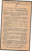 Everberg, 1944, Louis Van Meerbeeck - Images Religieuses