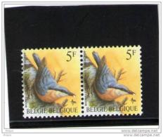 BELGIQUE,BUZIN, COB 2294, ** MNH, Ligne Rouge Verticale, Tan. ( 3) - 1985-.. Birds (Buzin)