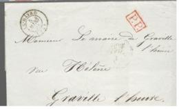 24740 - Cursive Graville/l'heure - 1801-1848: Précurseurs XIX