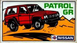 AUTOCOLLANT..PATROL GR   NISSAN. - Autocollants