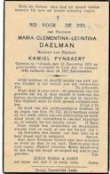 Hofstade, Lede, 1944, Maria Daelman, Pynsaert - Imágenes Religiosas