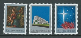 New Zealand 1983 Christmas Set 3 MNH - Nueva Zelanda