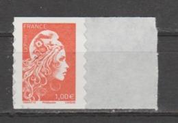 FRANCE / 2018 / Y&T N° AA 1600 ** : Marianne D'YZ (adhésif De Feuille) 1.00 € X 1 - état D'origine - Adhésifs (autocollants)