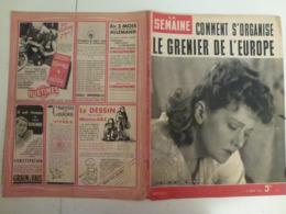 La Semaine 5 Mars 1942 83 Soldats Désert De Libye Edwige Feuillère WW2 Journaux De Guerre 1939 1945 - Books, Magazines, Comics