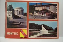 MONTSEC  - MULTIVUES -Le Restaurant - Le Mémorial -le Cimetière Militaire - ( Pas De Reflet Sur L'original ) - Altri Comuni