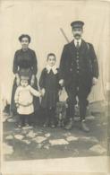 ANGLES SUR L'ANGLIN - Carte Photo - Début 1900 - Le Garde Chasse Ou Champêtre  ? - Autres Communes