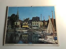 Calendrier - Almanach Des P.T.T  RHONE - 1978 - Pape De Louisiane / Honfleur (Calvados) - Kalenders