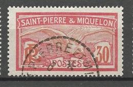 SPM N° 111 OBL TB - St.Pedro Y Miquelon