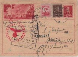 CARTE CENSUREE  1944 - Marcofilia
