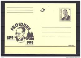BELGIQUE ENTIER POSTAL ** MNH FROIDURE 1899 - 1999 . (JE2) - Cartes Postales [1951-..]
