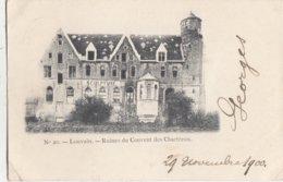 LEUVEN / RUINES VAN HET CHARTREUSE KLOOSTER  1910 - Leuven