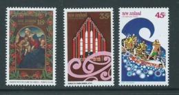 New Zealand 1982 Christmas Set Of 3 MNH - Nueva Zelanda