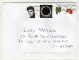 Enveloppe U.S.A. ETATS UNIS Oblitération Illisible - Poststempel
