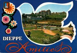 Dieppe Le Golf Miniature Et Le Chateau     CPM Ou CPSM - Dieppe