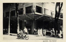 SAIGON  Rue Catinat Velo Pousse Pouse RV - Viêt-Nam