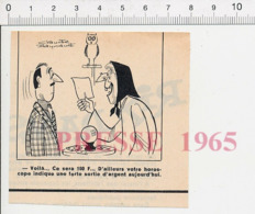 Humour Cartomancienne Horoscope Voyante Boule De Cristal Voyance Hibou Oiseau Owl Bird  PF13 - Vieux Papiers