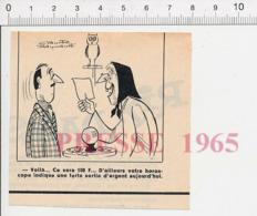 Humour Cartomancienne Horoscope Voyante Boule De Cristal Voyance Hibou Oiseau Owl Bird  PF13 - Vecchi Documenti