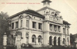 CAMBODGE  PHOM PENH Hotel Des Postes RV - Cambodge