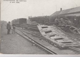 KONTICH / ANTWERPEN / TREINRAMP 1908 - Kontich
