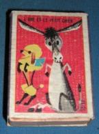 Boite D'allumettes : Fables : L'âne Et Le Petit Chien - Boites D'allumettes - Etiquettes