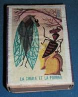 Boite D'allumettes : Fables : La Cigale Et La Fourmi - Boites D'allumettes - Etiquettes