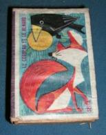 Boite D'allumettes : Fables : Le Corbeau Et Le Renard - Boites D'allumettes - Etiquettes
