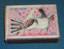 Boite D'allumettes : Fables : Les Deux Pigeons - Boites D'allumettes - Etiquettes