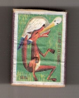 Boite D'allumettes : Fables : Le Loup Et La Cigogne (2) - Boites D'allumettes - Etiquettes
