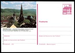 72949) BRD - P 138 - P3/36 - * Ungebraucht - 7580 Bühl, Rathaus, Kirche, Teilansicht - BRD