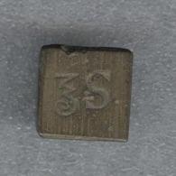 Poids D'apothicaire 1/2 Once De Paris 14,97 Gr - Basé Sur Le Système Pondéral Du Marc De Troyes XVIII-XIX - Otros