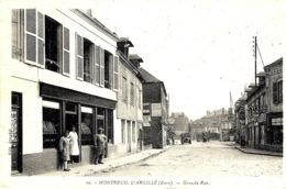 10- MONTREUIL-L'ARGILLE  - Grande Rue  -ed. Jeandet - France