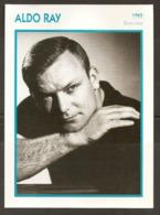 PORTRAIT DE STAR 1965 ÉTATS UNIS USA - ACTEUR ALDO RAY - UNITED STATES USA ACTOR CINEMA FILM PHOTO - Photographs