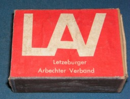 Boite D'allumettes : Luxembourg Et Belgique : LAV - Boites D'allumettes - Etiquettes