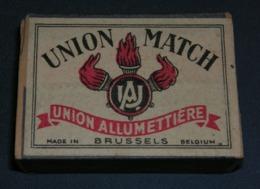 Boite D'allumettes : Luxembourg Et Belgique : Union Match - Boites D'allumettes - Etiquettes