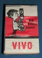 Boite D'allumettes : Luxembourg Et Belgique : Vivo (1) - Boites D'allumettes - Etiquettes
